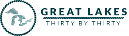 Great Lakes 30 by 30 Logo